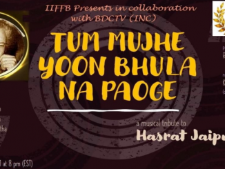 A music tribute to hasrat jaipuri